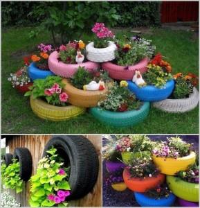 virágok gumikban