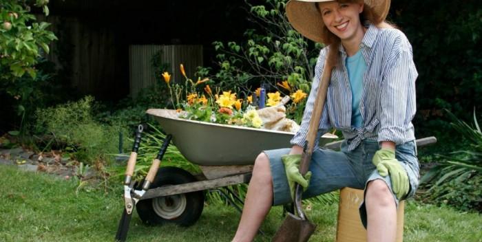 kertészkedés ruha