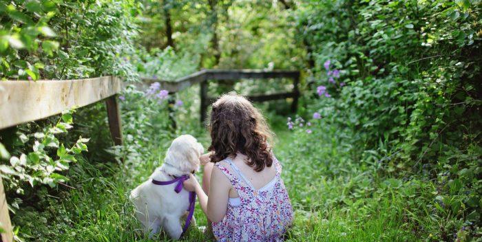 gyerek és kert